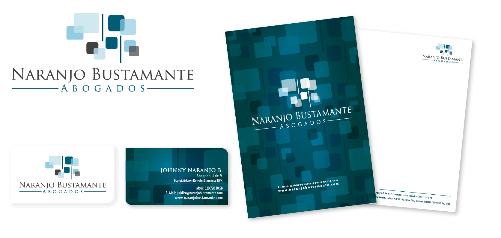 Branding Naranjo Bustamante Lawyers Branding