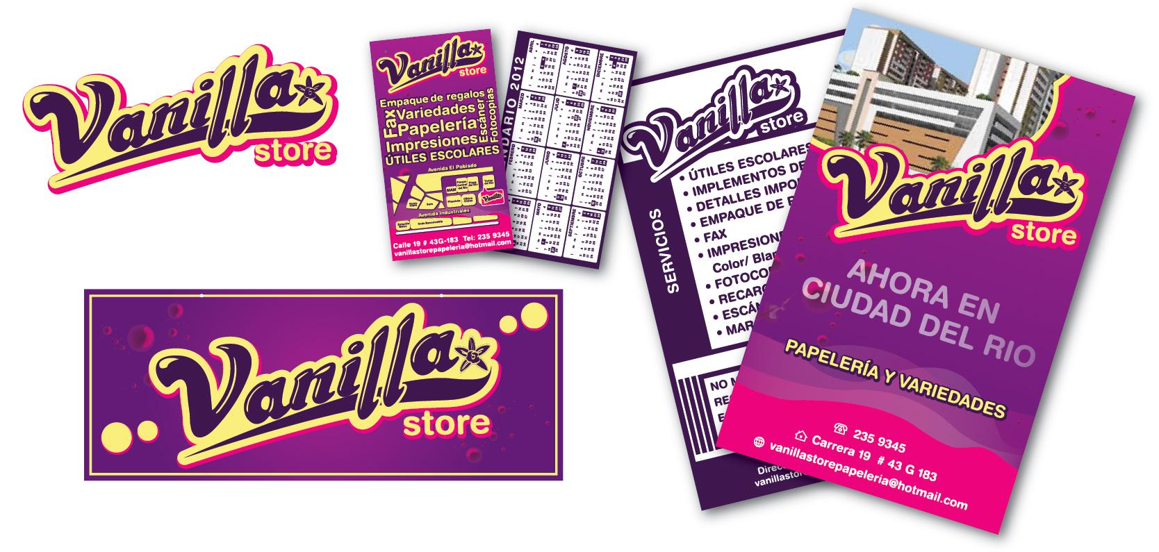 Vanilla Store Branding