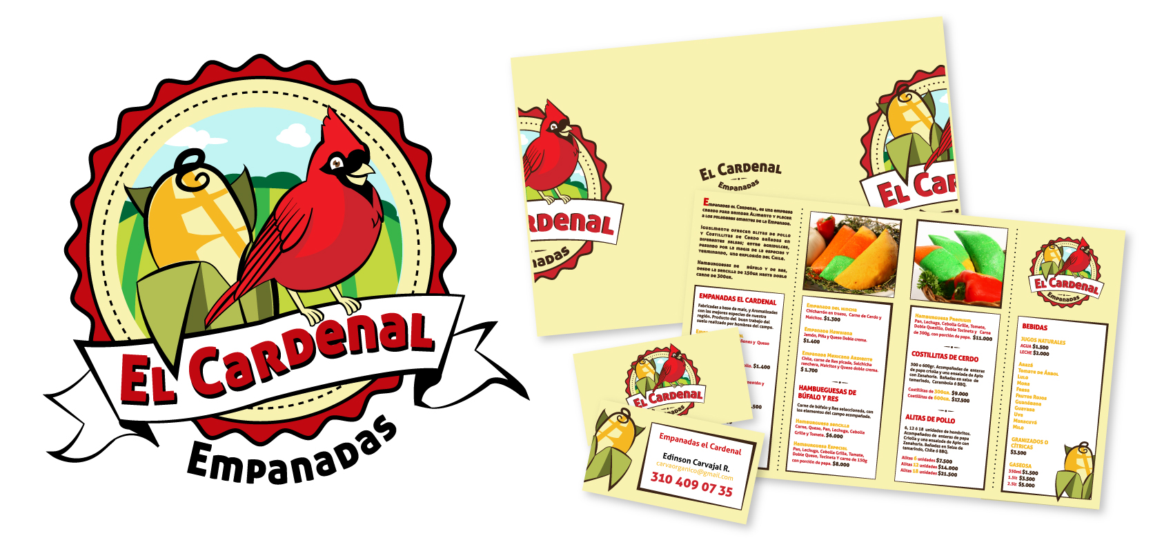 El Cardenal Branding