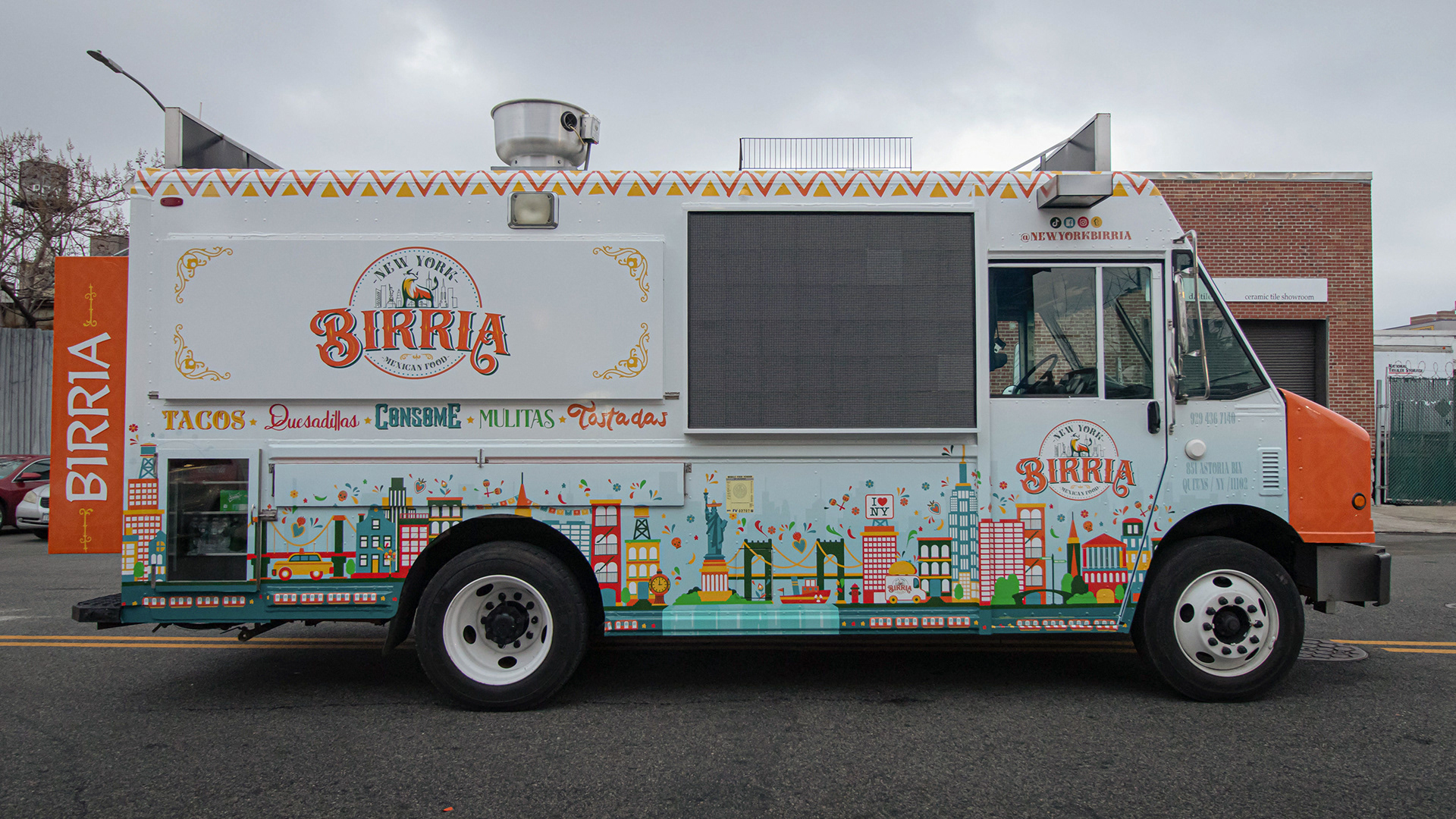 New York Birria Branding & Food Truck Design