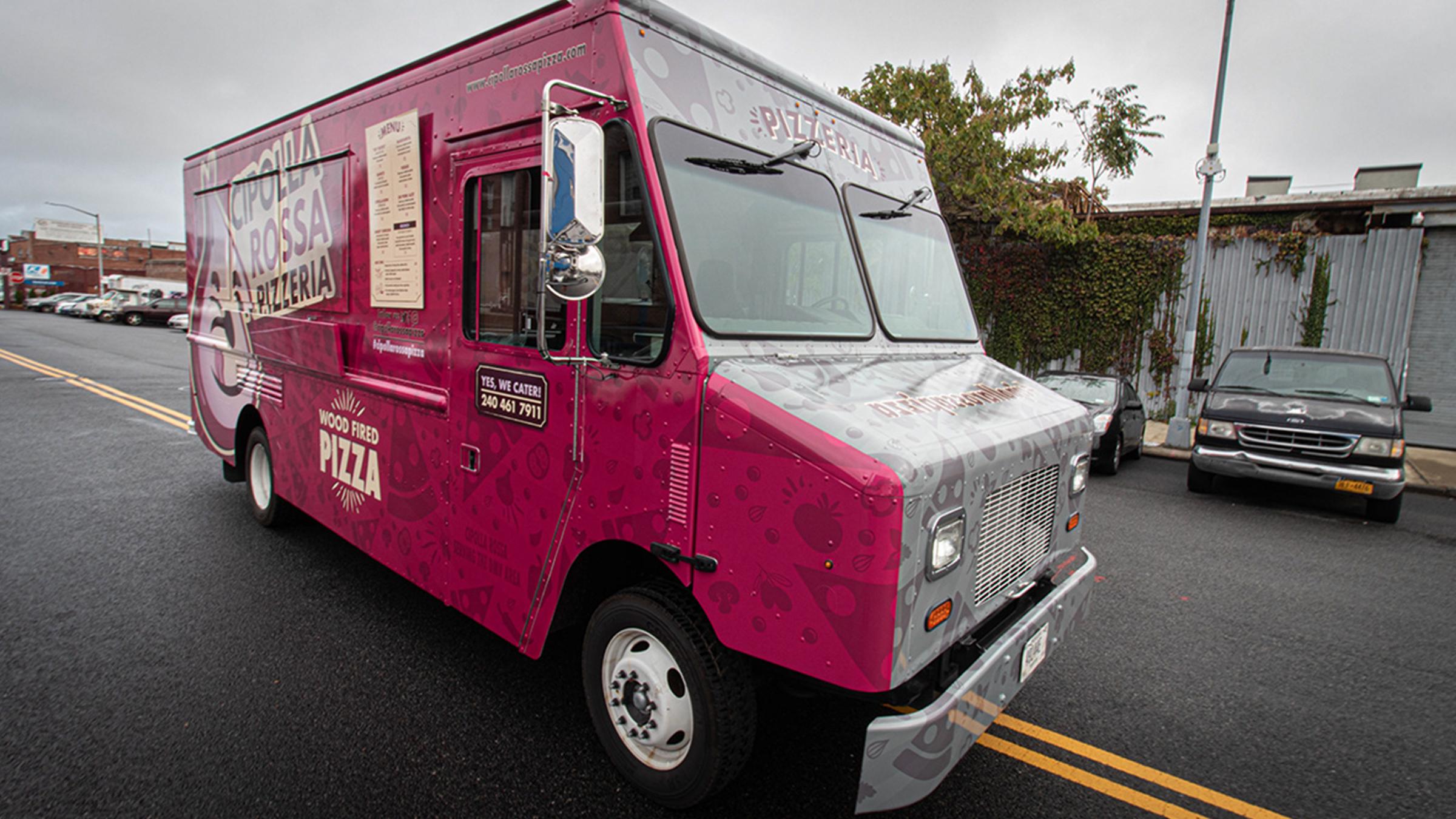 Cipolla Rossa Pizzeria Branding & Food Truck Design