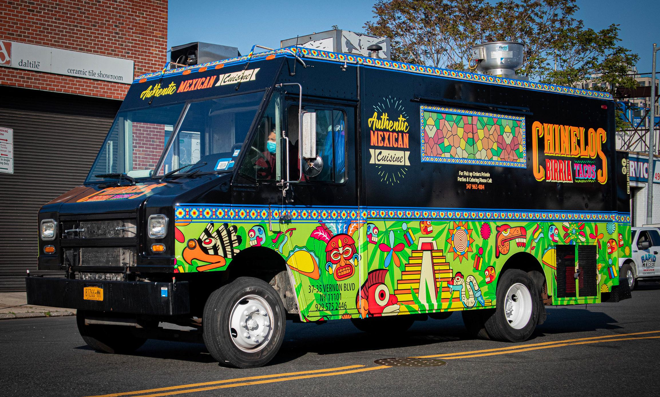Chinelos Birria Tacos Branding & Food Truck Design