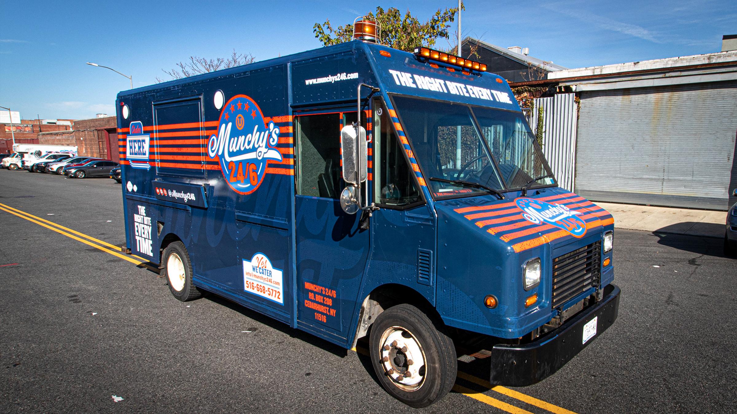 Munchy's 24/6 Branding & Food Truck Design