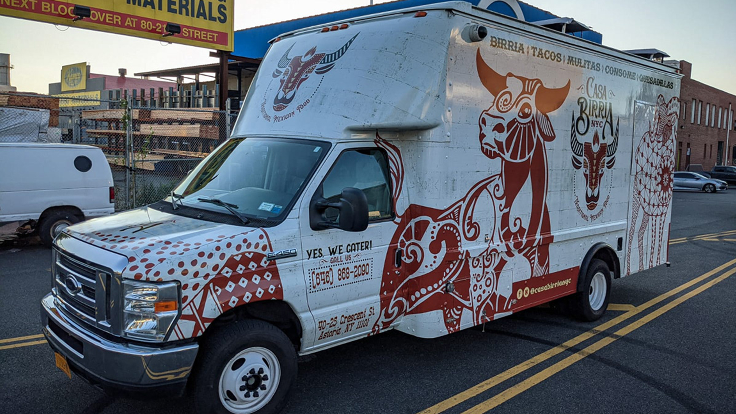 Casa Birria NYC Branding & Food Truck Design