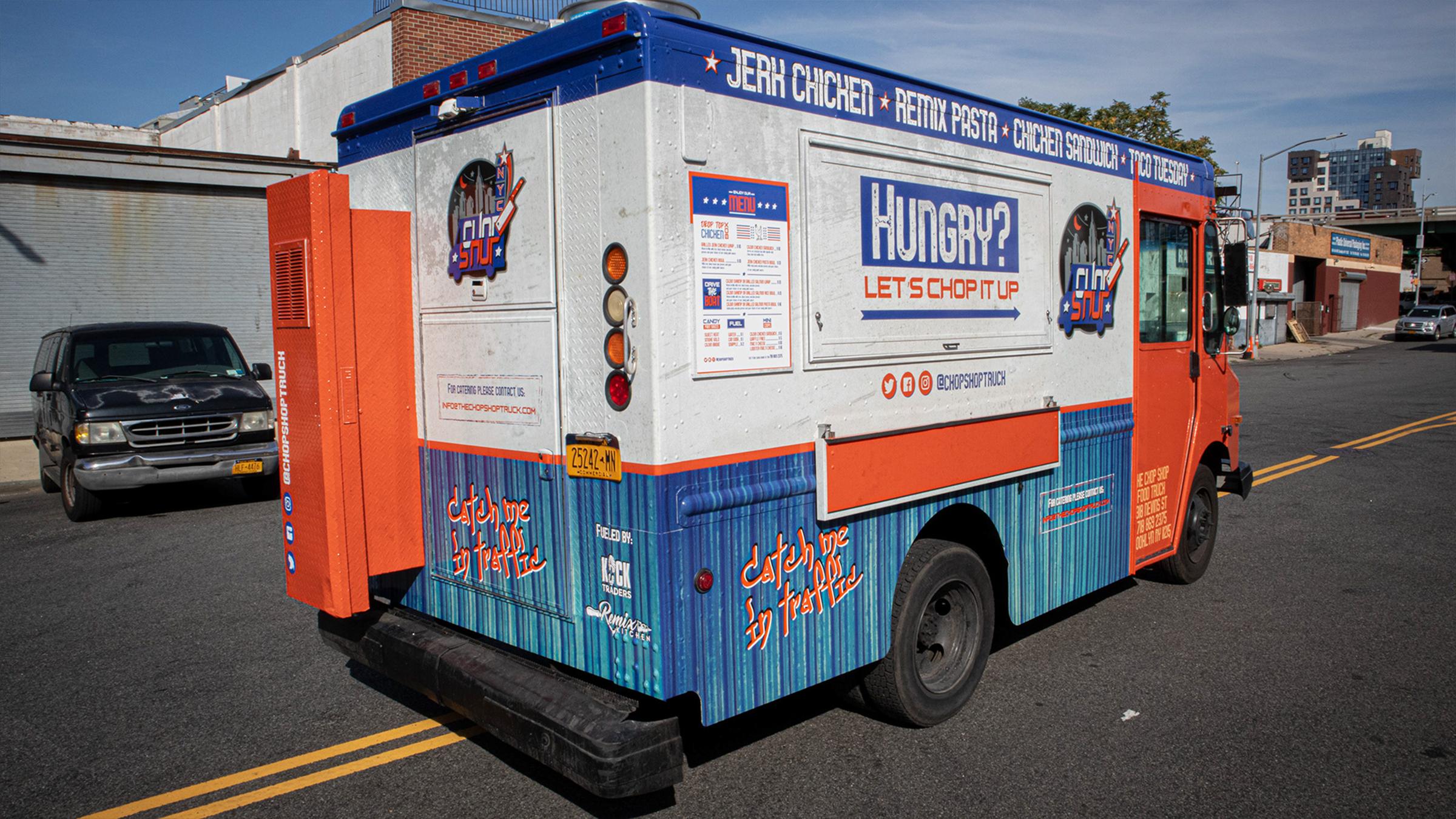 Chop Shop Branding & Food Truck Design