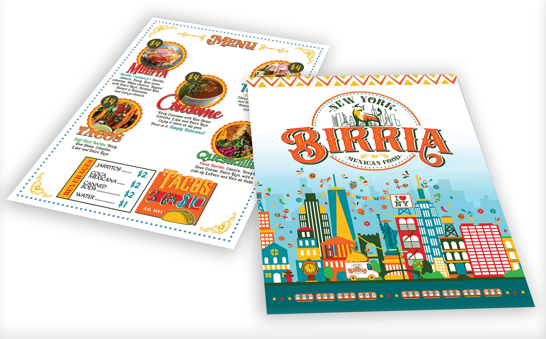 New York Birria Branding & Food Truck