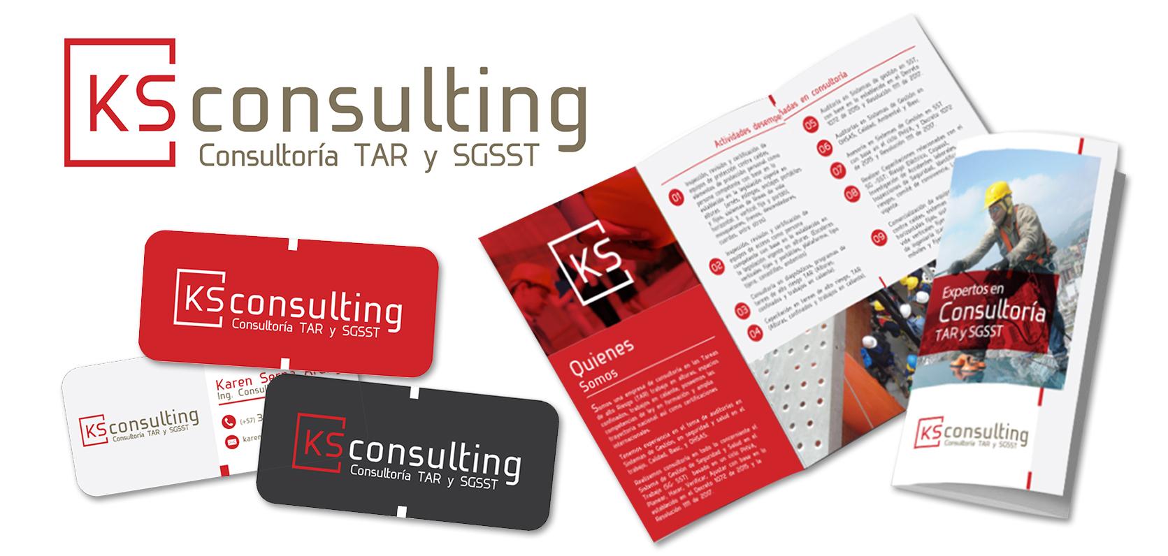 KS Consulting Branding