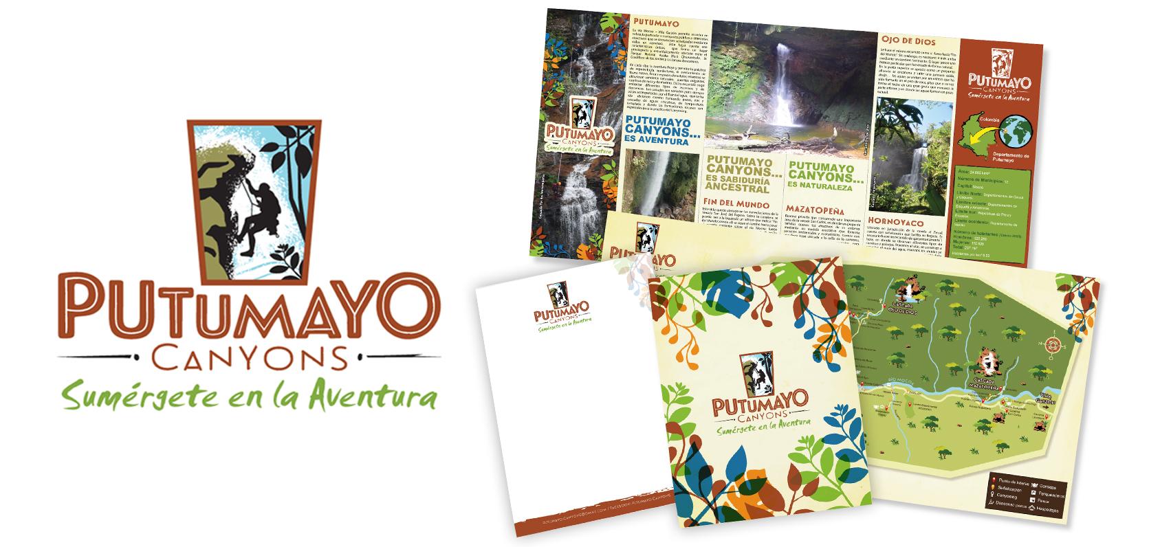 Putumayo Cayons Branding