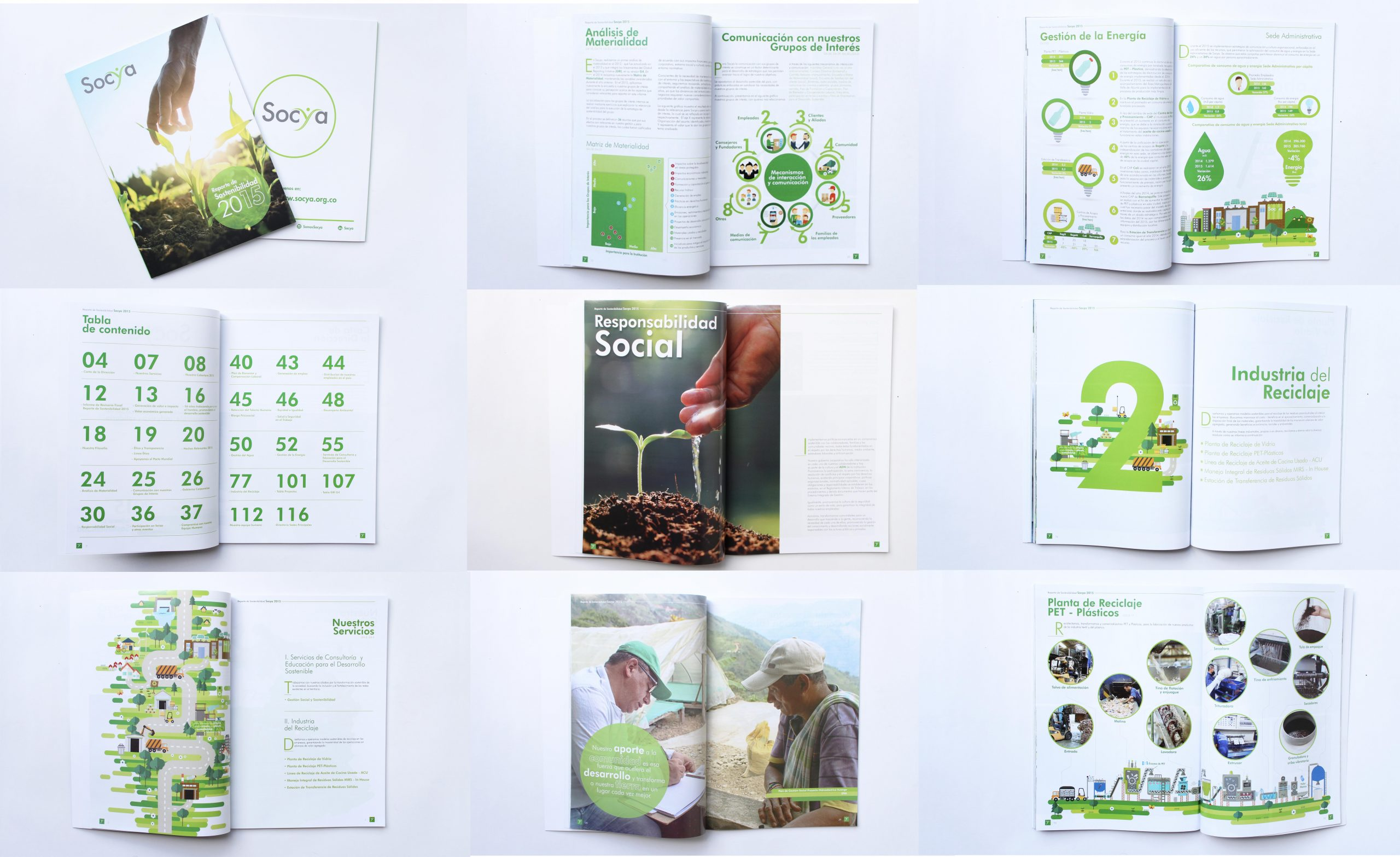 Sustainability Report Socya 2015