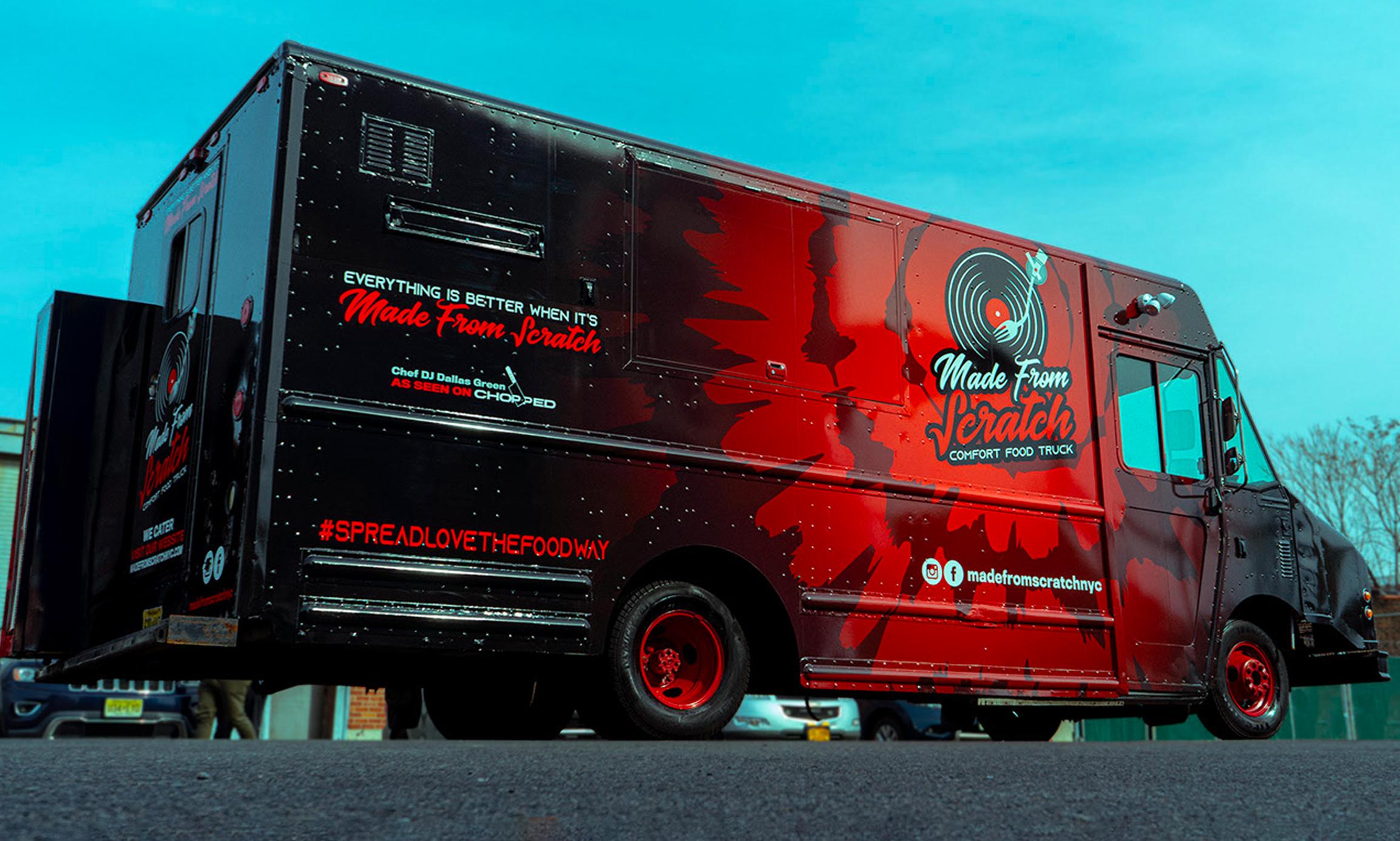 Made From Scratch Branding & Food Truck Design
