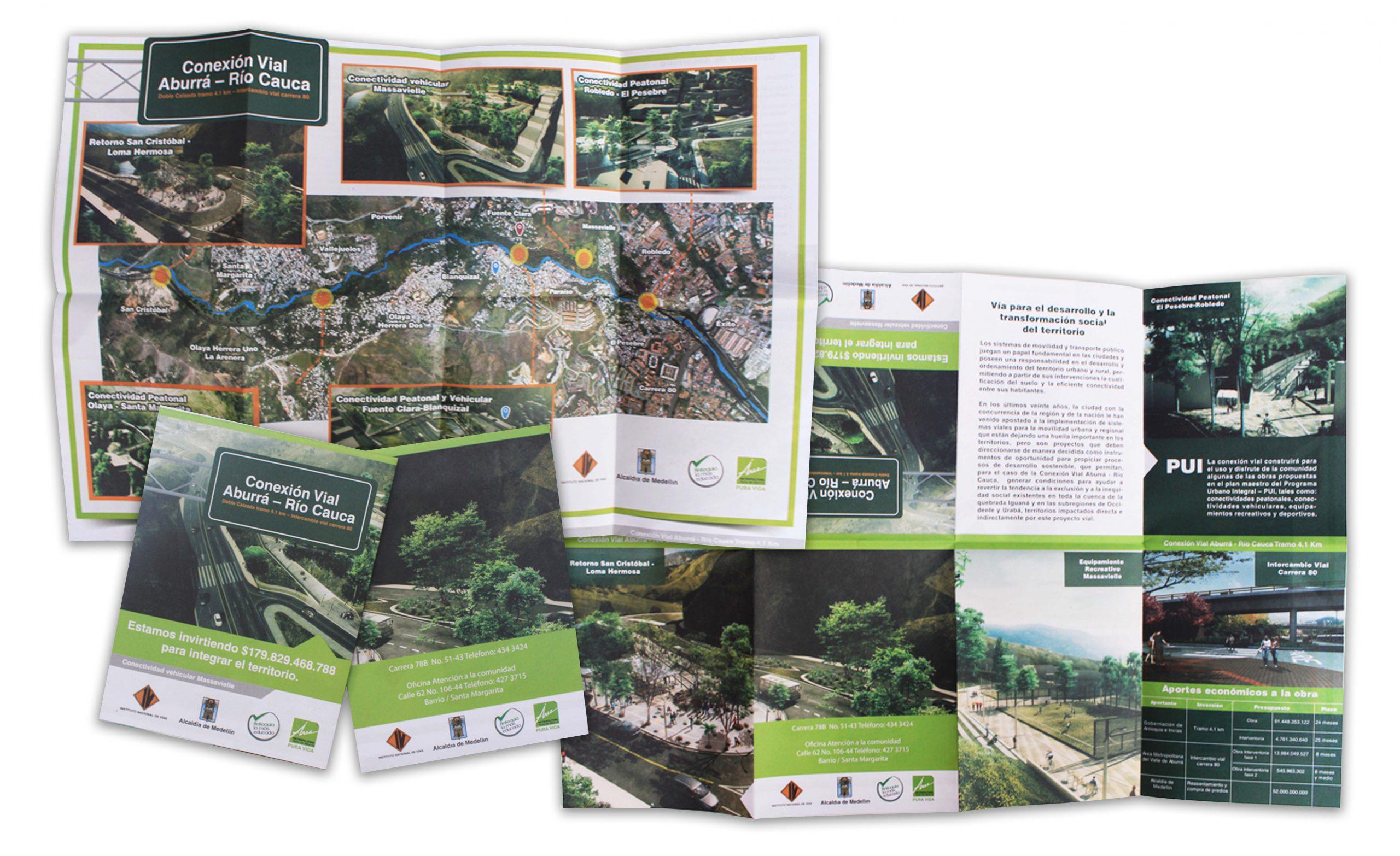 Campaign Design Conexíon Vial Aburrá – Río Cauca