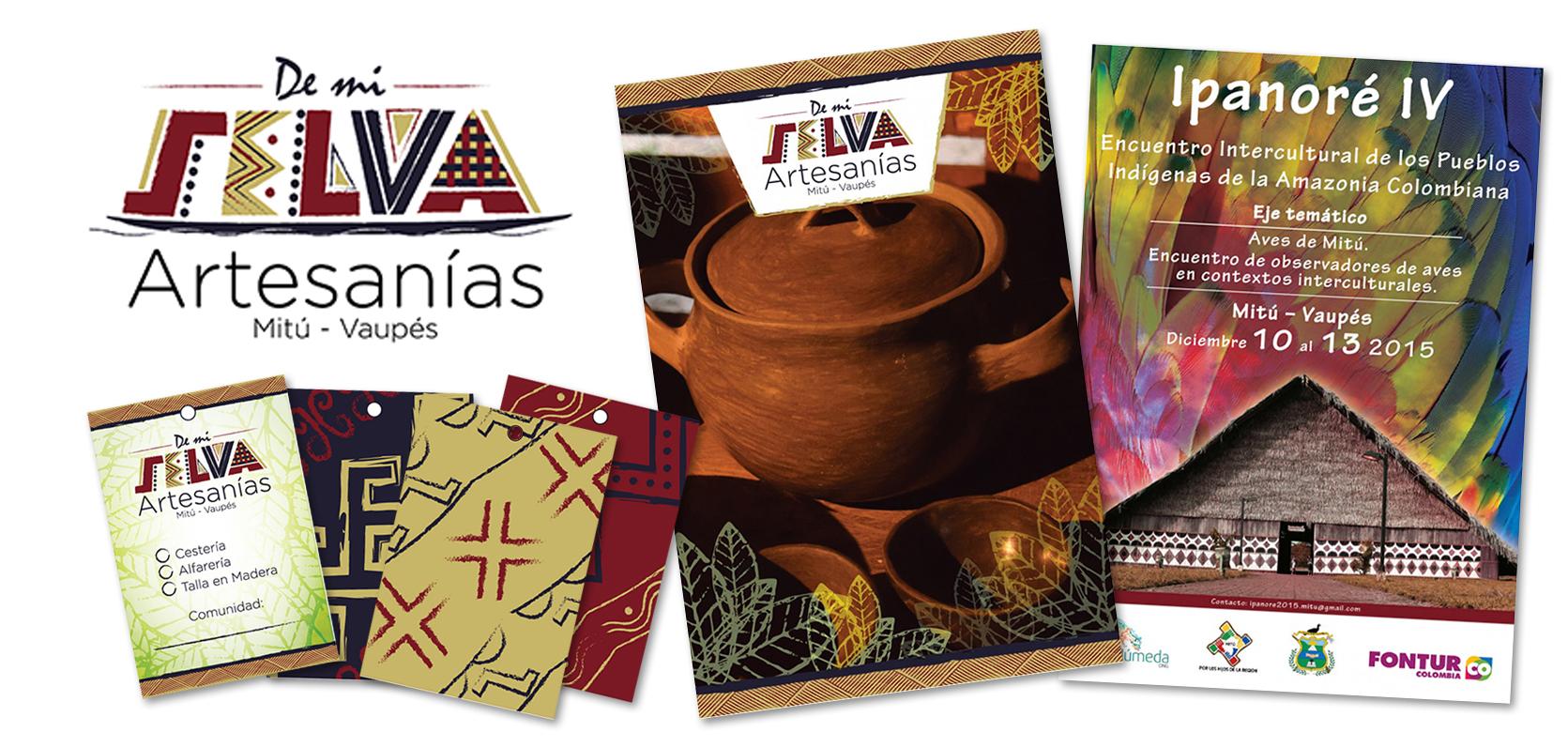 De mi Selva Crafts Branding