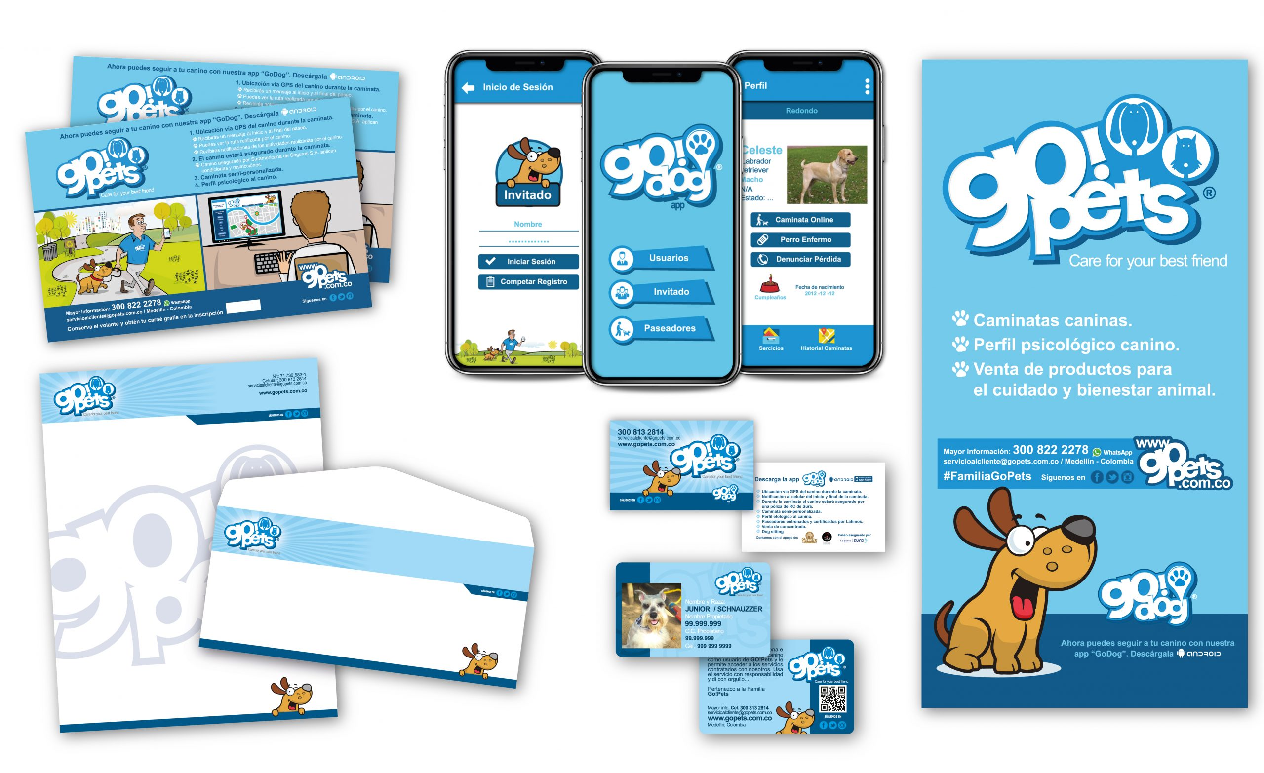 Gopets App and Brand Desing