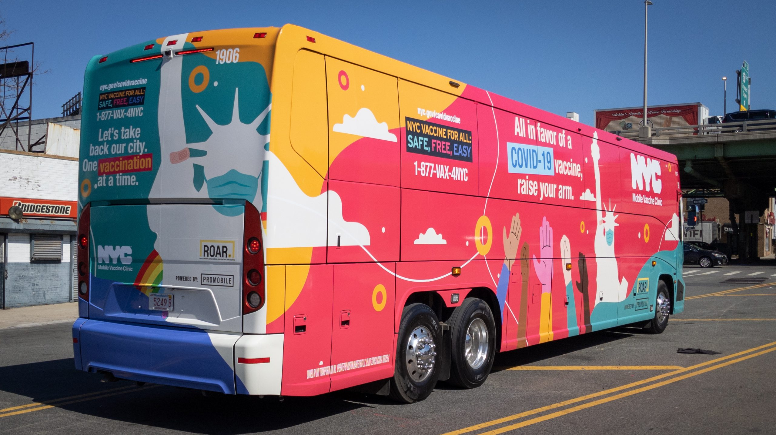 NYC's Mobile Vaccine Buses & Shuttles