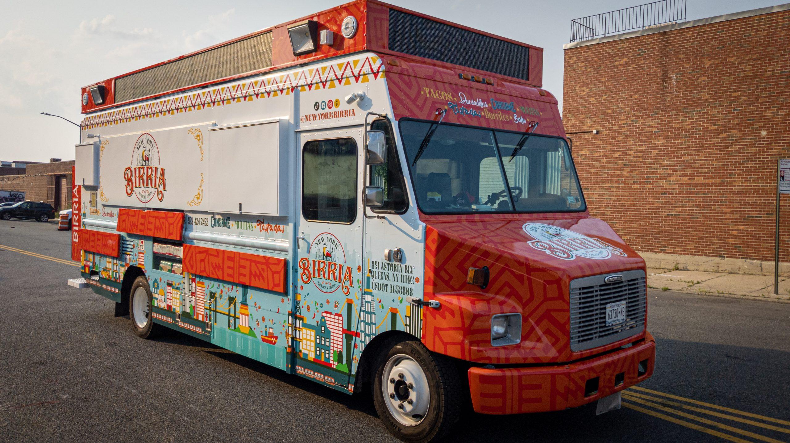 New York Birria Branding & Food Truck Design #2